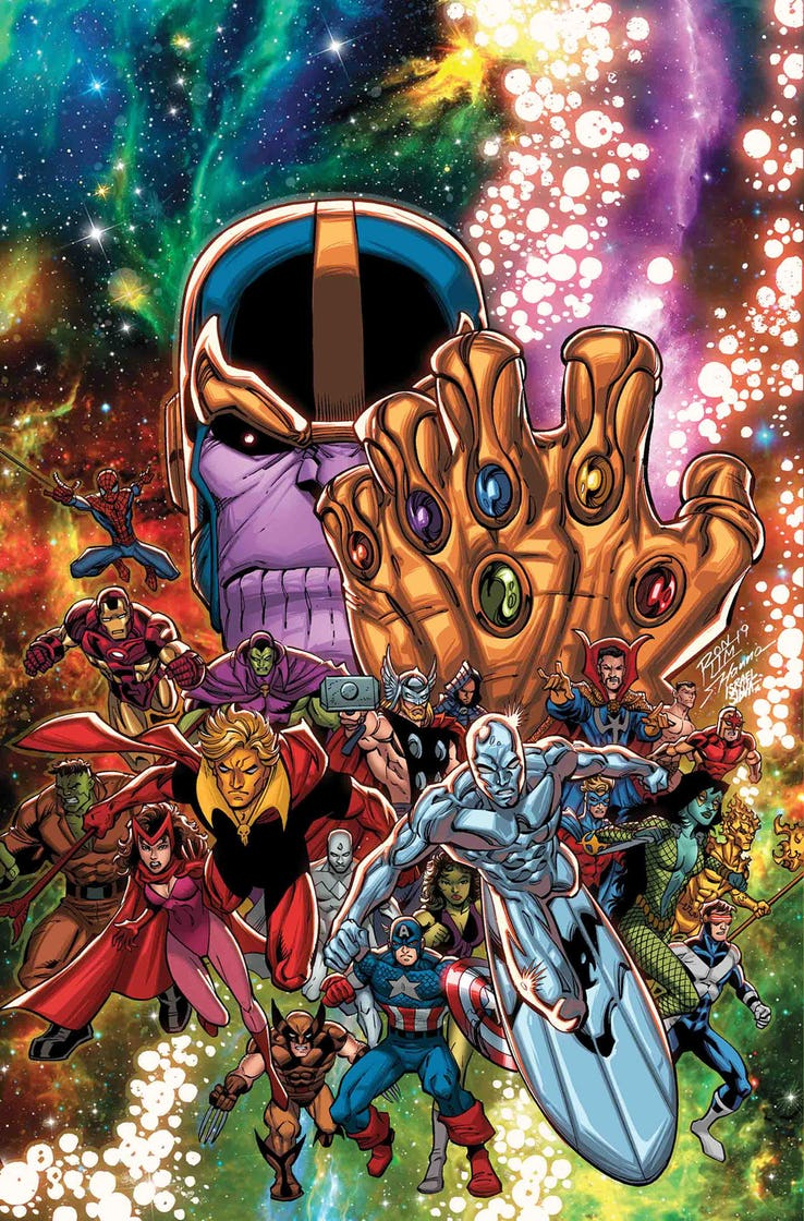 Nova is on 2 variant covers for Marvel Comics #1000. One is of the Infinity Gauntlet and the other a massive collage. The issue features the entirety of the Marvel Universe of characters! so fingers crossed for Nova and #NewWarriors! The historic issue is on sale August 28th!