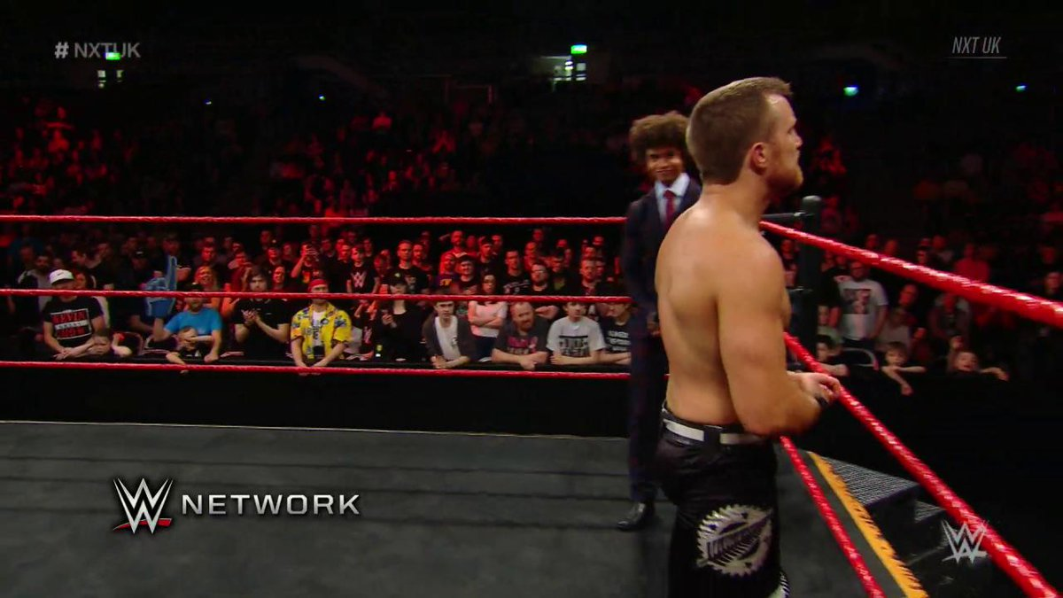 The #KiwiBuzzsaw @Travis_BanksPW earned his way into the Fatal 4-Way Match to determine the No. 1 Contender to the #UKChampionship on an action-packed #NXTUK!