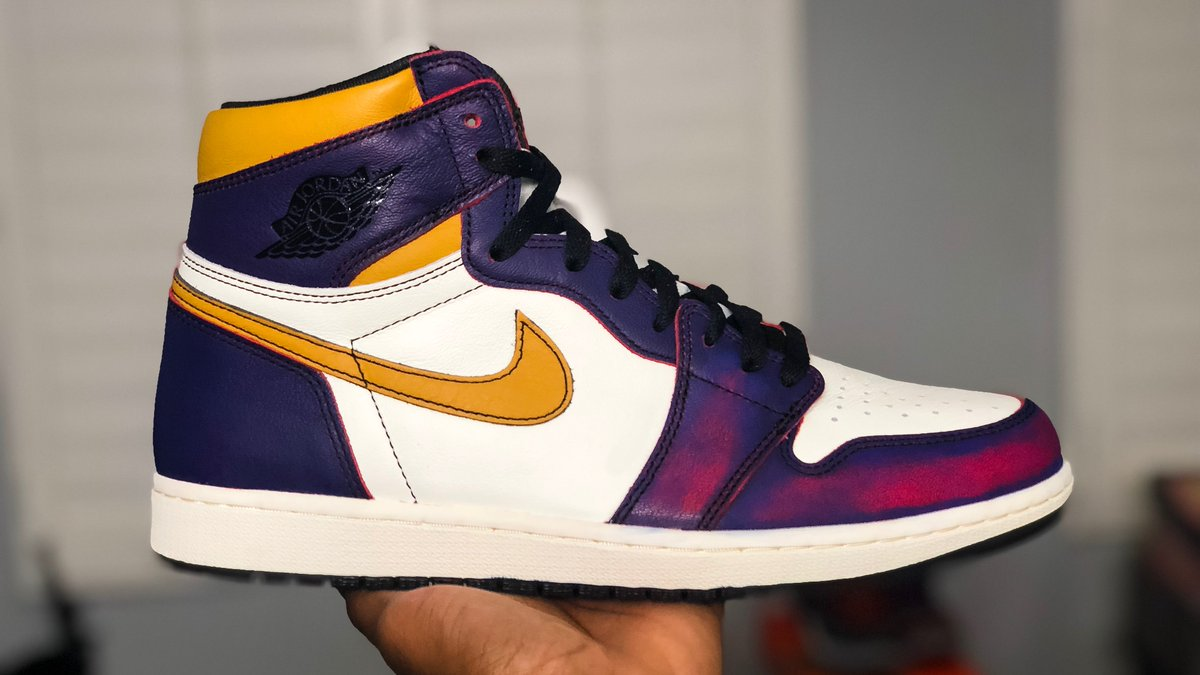 Air Jordan 1 x Nike SB LA to Chicago