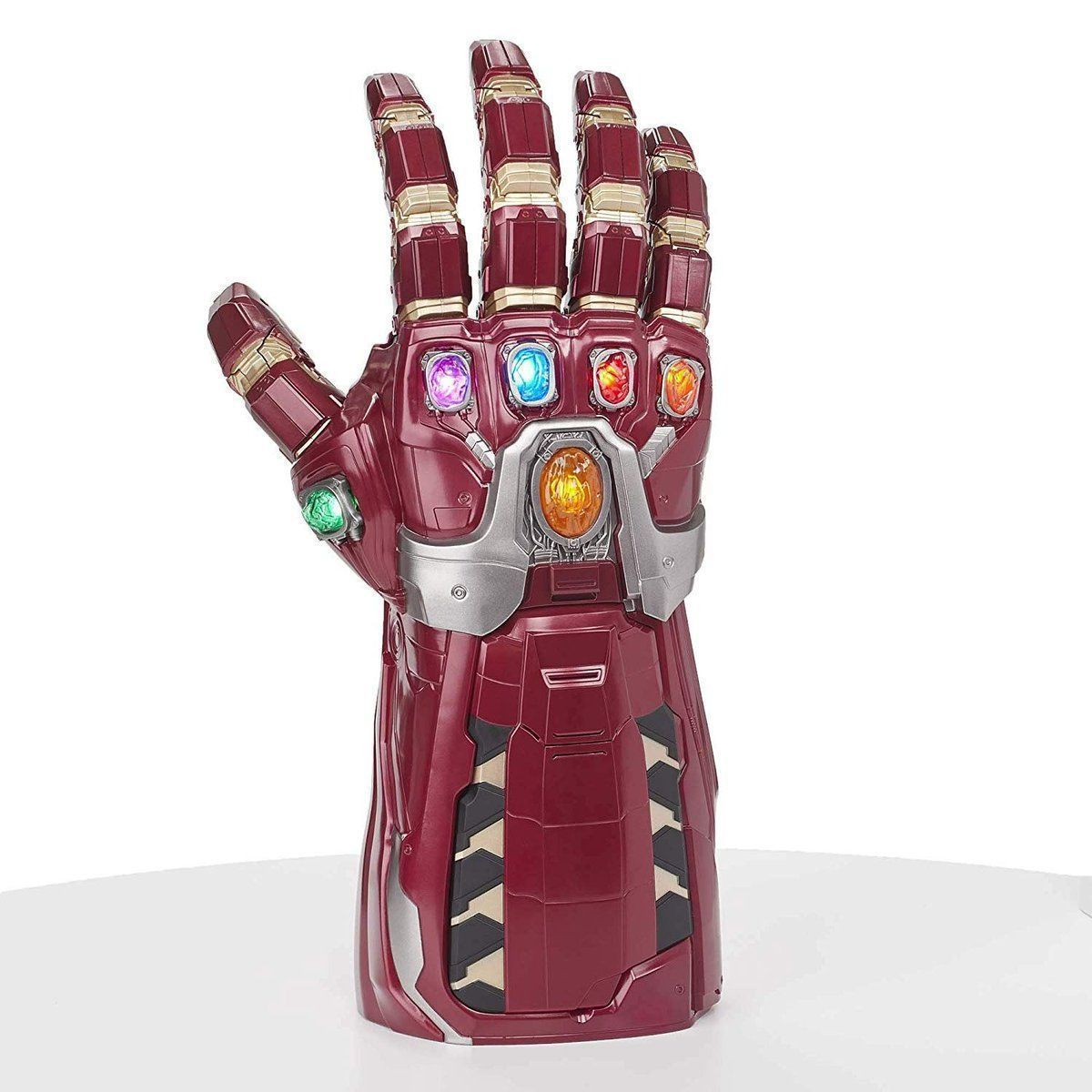 The Avengers Marvel Legends Nano Gauntlet is up for preorder! (not charged til it ships) (yes you can flip people off with this) amzn.to/2XaeiRf - The Infinity Gauntlet of this is selling for 2x retail- now sold out on their website!