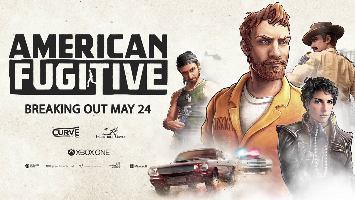 "American Fugitive from <a href=""https://twitter.com/fallentreegames"" rel=""nofollow"" target=""_blank"" title=""fallentreegames"">@fallentreegames</a> and <a href=""https://twitter.com/CurveDigital"" rel=""nofollow"" target=""_blank"" title=""CurveDigital"">@CurveDigital</a> is now available for Xbox One <a href=""http://mjr.mn/fYiY"" rel=""nofollow"" target=""_blank"" title=""http://mjr.mn/fYiY"">mjr.mn/fYiY</a> https://t.co/Ew8swAUsrQ."