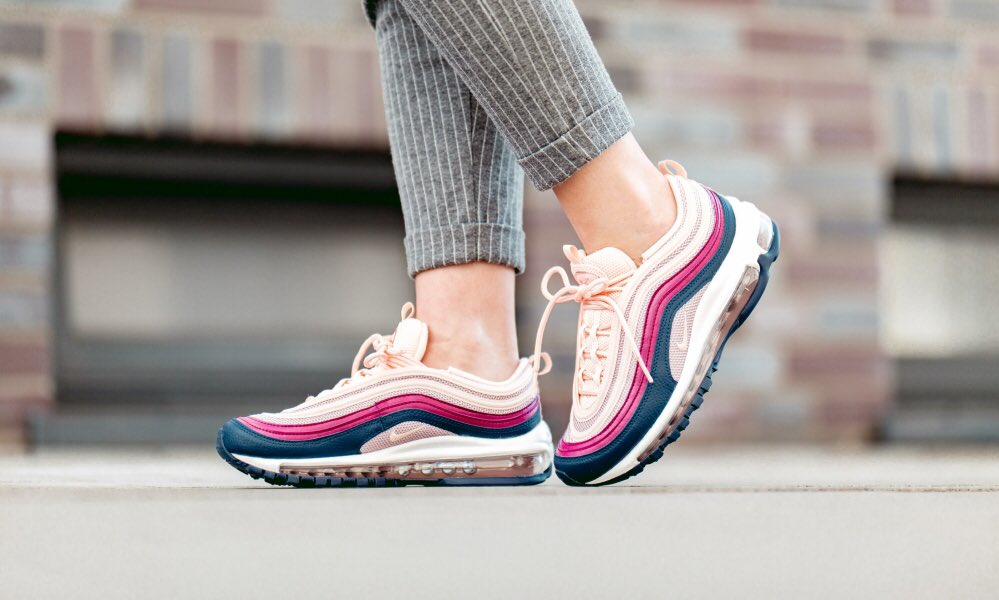Nike Shoes | Air Max 97 Plum Chalk Crimson Tint | Poshmark
