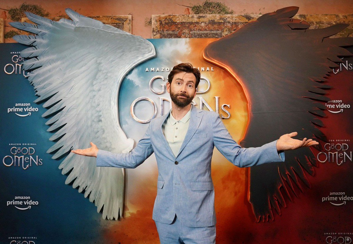David Tennant at the Good Omens premiere in New York - Thursday 23rd May 2019