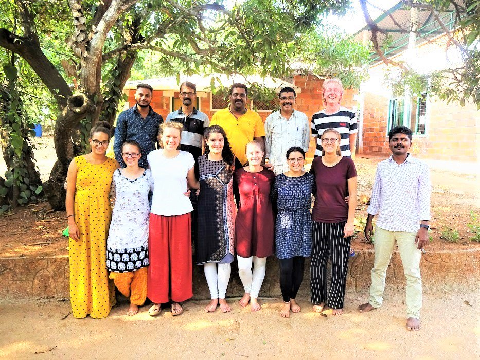 EG Final Evaluation – March 2019 !!  #volunteer #volunteering #evaluation #facilitation #volunteerinindia #indianculture  FSL-India's LTV Kundapur team organised the Final-Evaluation for our Long Term Volunteers from Experiment Germany.