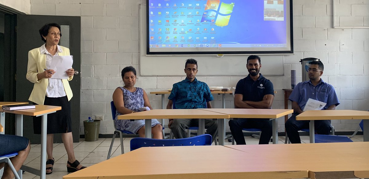 #fijiEM on stage! Dr Lavinesh Raj talking about his journey as the Pacific's first EM physician getting published in a Q1 journal (Emergency Medicine Australia). Inspiration for those of us in training to put our research on the map! #emergencymedicine <br>http://pic.twitter.com/XCQysZGTRo