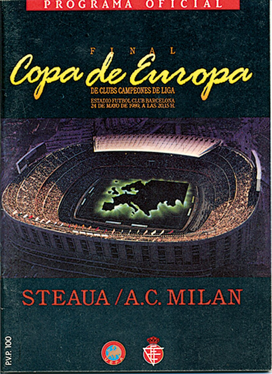 AC Milan became #UCL winners for the 3rd time #OTD in 1989!#UCLfinal