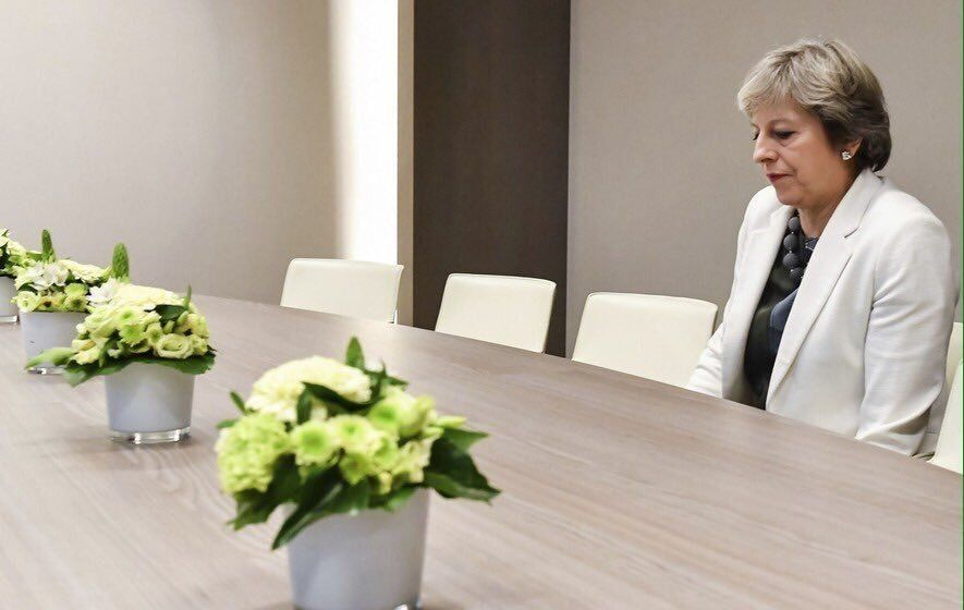 when you realise those #TheresaMay memes are about to end