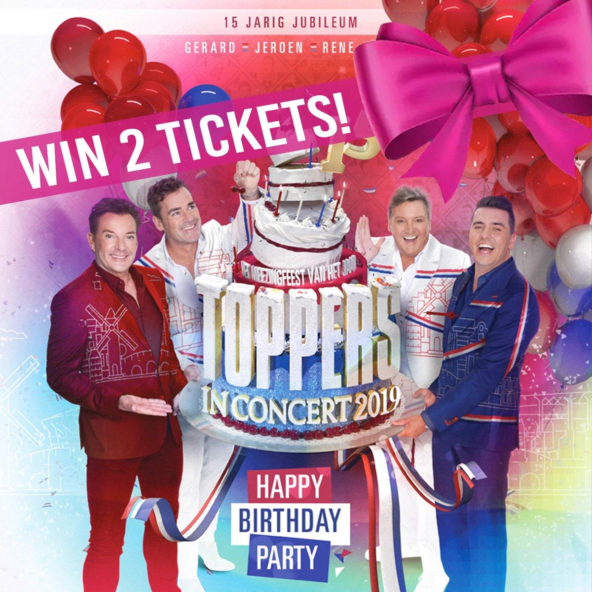 🕺🏼💃🏼 Op onze Facebookpagina geven wij twee VIP tickets weg voor Toppers in Concert 2019, inclusief 2 cards met een tegoed van € 20,- per kaart! 🎉  Kijk hoe je kans kunt maken 👉🏼 http://bit.ly/30GdllJ  https://twitter.com/cruijffarena/status/1131844882799222784/photo/1pic.twitter.com/0AMX41jC7H