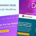 Image for the Tweet beginning: 60+ Best Landing Page Templates