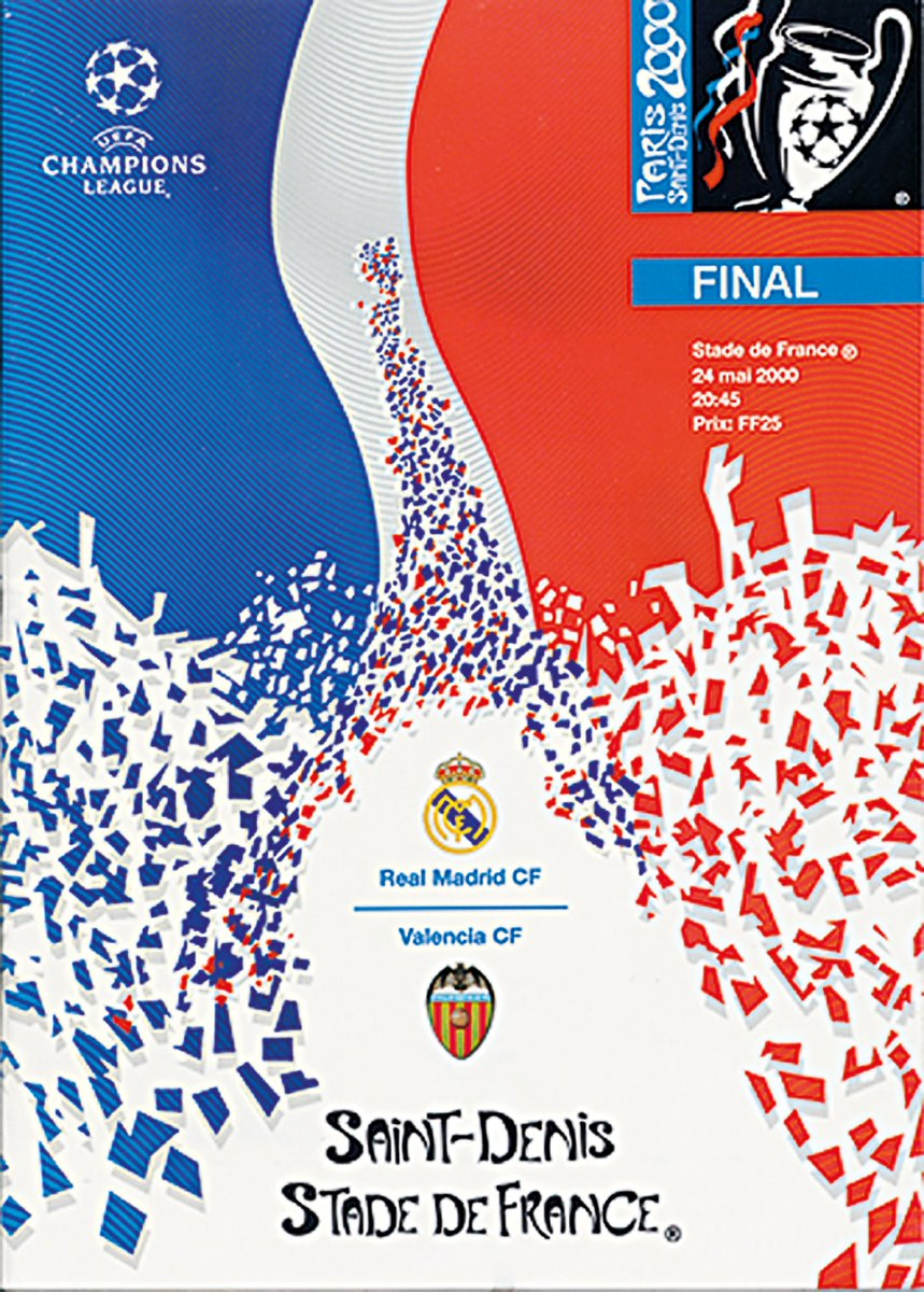 Real Madrid became European champions for the 8th time #OTD in 2000! #UCLfinal