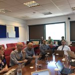 Image for the Tweet beginning: @eInfraCentral consortium meeting today in
