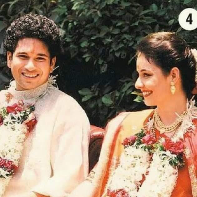Happy Marriage Anniversary Dear SACHIN... God's Bless Both Of U