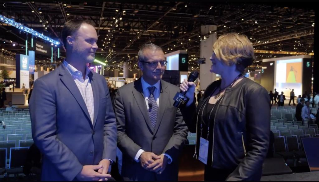 SAP &amp; @AccentureTech partner up for exceptional #CX!   Learn more:  http:// sap.to/6016ElVsO  &nbsp;   #SAPCXLIVE   @stephaniethum<br>http://pic.twitter.com/jeBJuYPizy