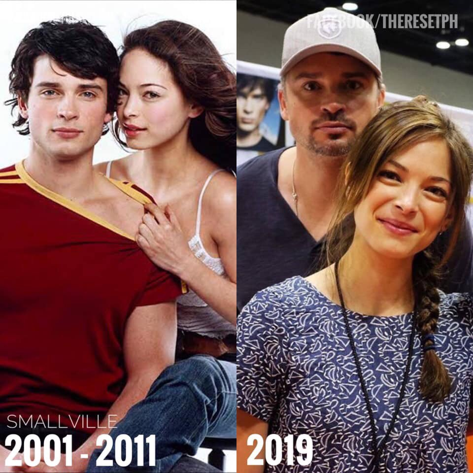 Been shipping this since '01. #CLANA #SmallVille