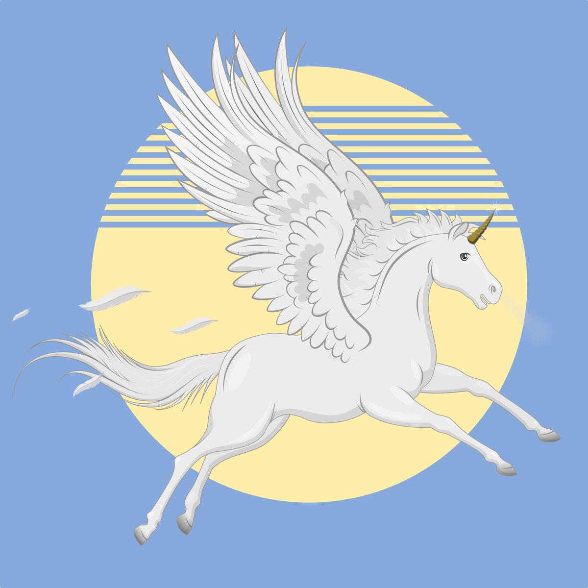 Pegaso Imagen realizado enteramente en el programa vectorial Inkscape. . #digitalart #diseñografico #freelancer #peinture #vectorart #illiustration #art #caballo #ilustracion #inkscape #pegasus #svg #vector #Pegaso