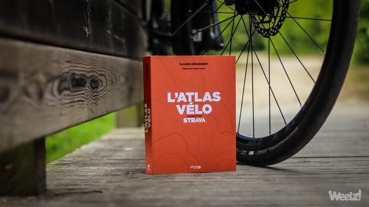 0f1a82d957 #VendrediLecture La France en boucle avec l'Atlas Vélo de @ClaudeDroussent  et @Strava http://bit.ly/2K2rbsS #sortievelo #atlasvelo ...
