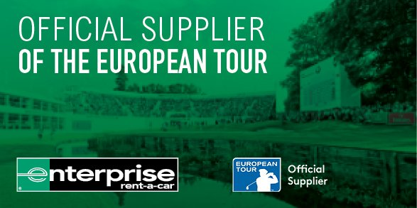 We are pleased to announce that we are now the Official Car Rental Supplier of the @europeantour. Find out more at http://www.enterprise.co.uk/europeantour