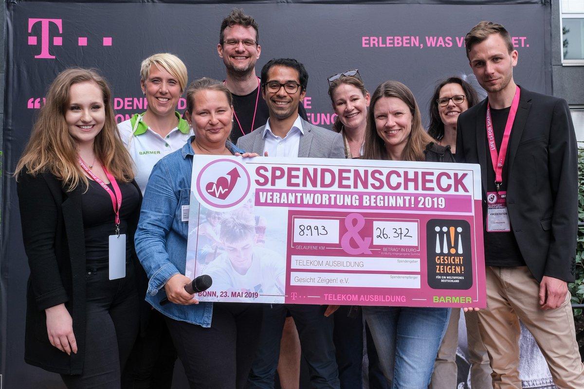 Social Media Post: ++Verantwortung beginnt!++ Gestern gingen die Spendenläufe in Bonn...