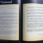 Image for the Tweet beginning: La Lettre du Préfet Grimaud