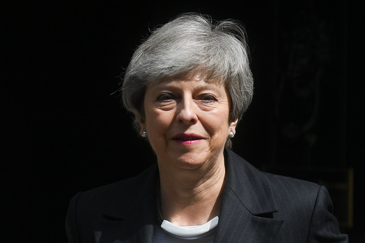 British Prime Minister Theresa May is expected to announce details of her resignation shortly. Follow live updates: https://cnn.it/2WmqwsG