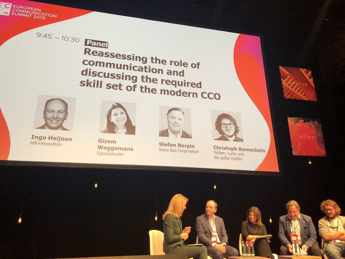 Great to have our very own Ingo Heijnen (co lead of Continental Europe) of @HKStrategies here speaking on the role of the modern #COO in today's changing world. #ECS2019 with a distinguished panel from @VolvoBusGlobal @EgonZehnder and Torben,Lucie und die gelbe Gefahr. https://t.co/0svjn0uU4k