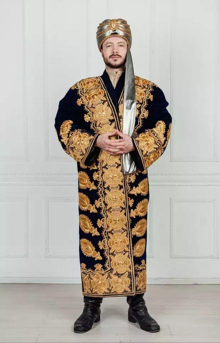 Национальная одежда таджиков фото