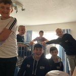 Some final rooms pics. The boys are more organised this morning than the girls!