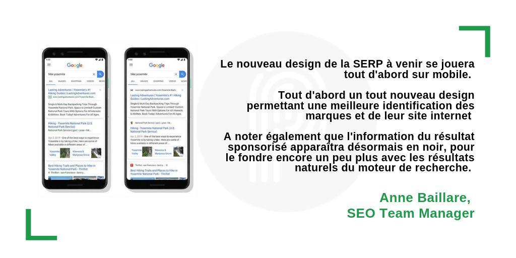 test Twitter Media - Le nouveau design des résultats de recherche, le logo des marques affiché dans les SERPs sont les principaux changements à venir dans les résultats de recherche de @GoogleFR. Les résultats, sponsorisés ou naturels se confondent de + en + https://t.co/vbP2AmVw6J https://t.co/4RqSyUh6iZ