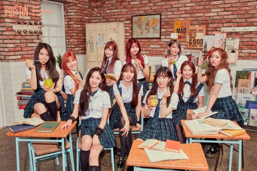 Soompi's photo on Pristin