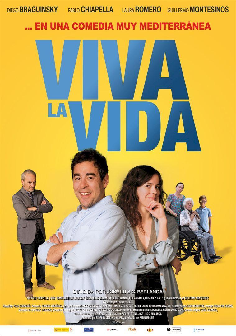 HOY se estrena #VivaLaVida, comedia de la que nuestra socia @aliciluna es coguionista.