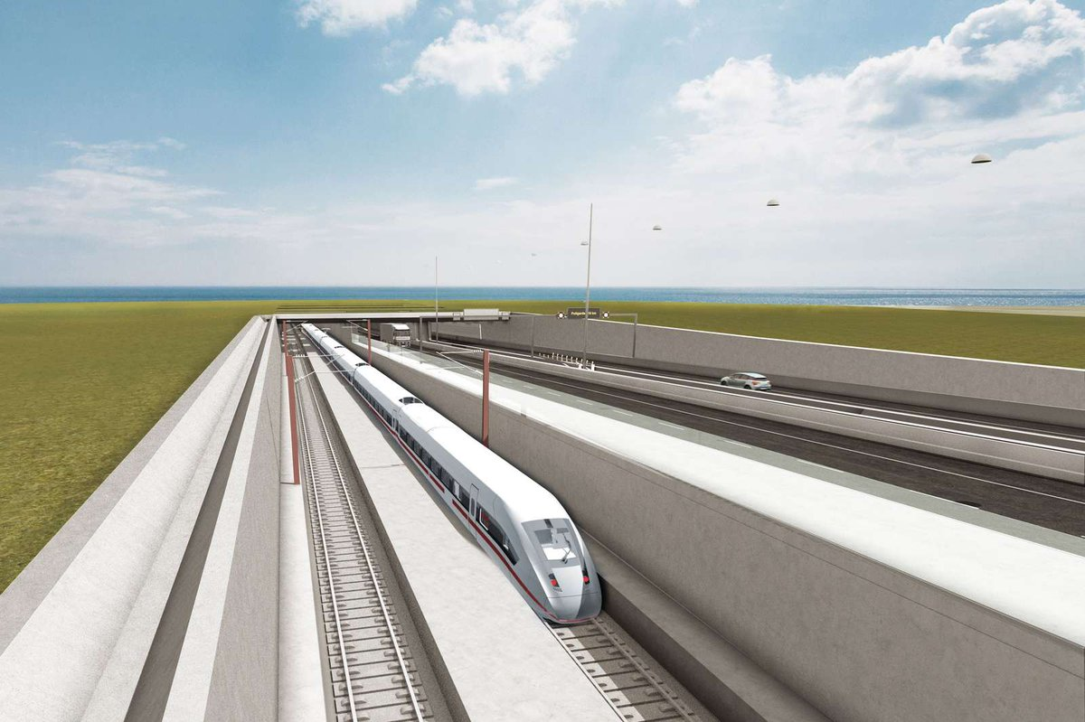 "EU Transport on Twitter: ""The Fehmarn Belt tunnel between 🇩🇰& 🇩🇪is a key project to bring Europeans closer. €123.5M #ConnectingEurope facility grant + @EIB loan will allow decisive progress on the Danish"