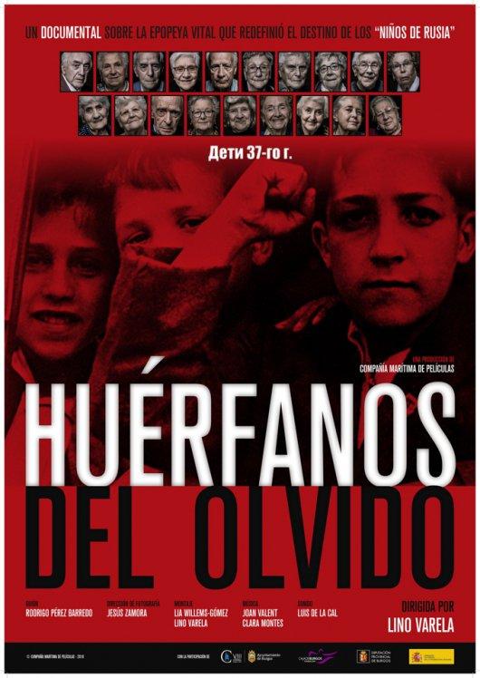 """MAÑANA se estrena """"Huérfanos del olvido"""", documental sobre los """"niños de Rusia"""", dirigido por nuestro socio @linovarelacer."""