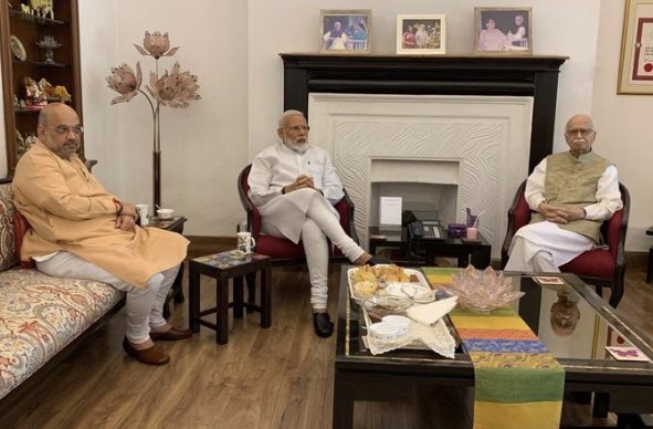 "Few BJP insiders say, ""LK Advani and Murali M Joshi may be offered Rajya Sabha seats while Manoj Sinha a sure-shot to RS after losing in Ghazipur"". @BBCHindi @BBCIndia #IndiaElection2019 #Verdict2019"