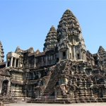 Image for the Tweet beginning: Is Angkor Wat high on