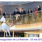 Image for the Tweet beginning: Inauguration de la Rotonde @NegrescoHotel