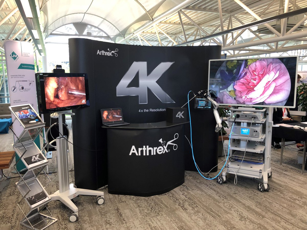 #ArthrexUK are proud to support education in colorectal surgery at the @PColorectal 1st Portsmouth CME symposium. Come visit our stand to see the latest 4K technologies and innovations!#DiscoverArthrex