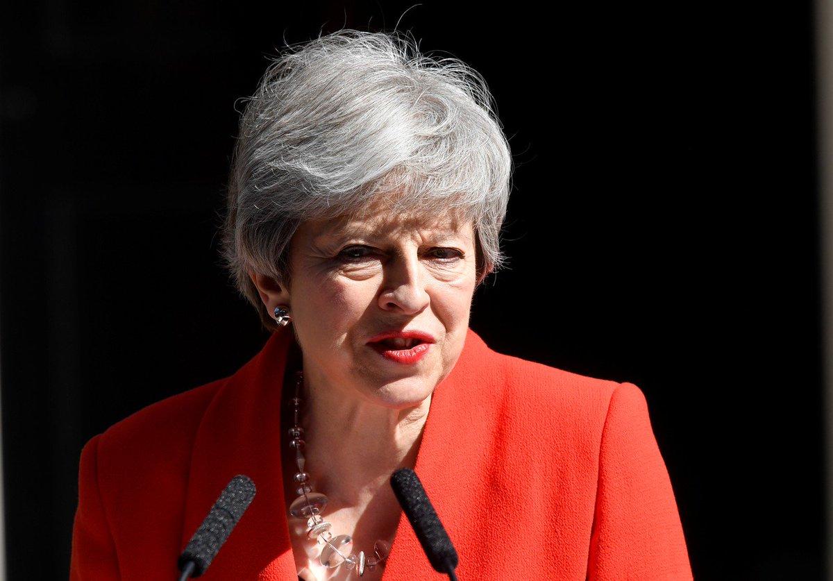 Theresa May anuncia sua renúncia ao cargo https://glo.bo/2EuSJTY #G1