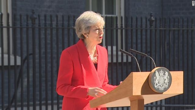UK Prime Minister Theresa May announces resignation in tearful statement after failing to deliver her Brexit plan. Follow live updates https://cnn.it/2VMGdF5