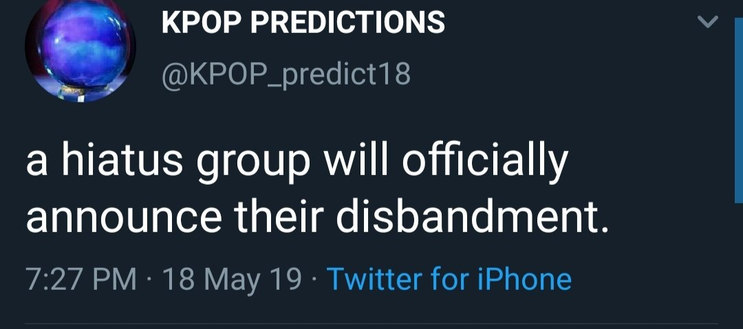 kpop prediction accs are fake (@kpredict_expose) | Twitter
