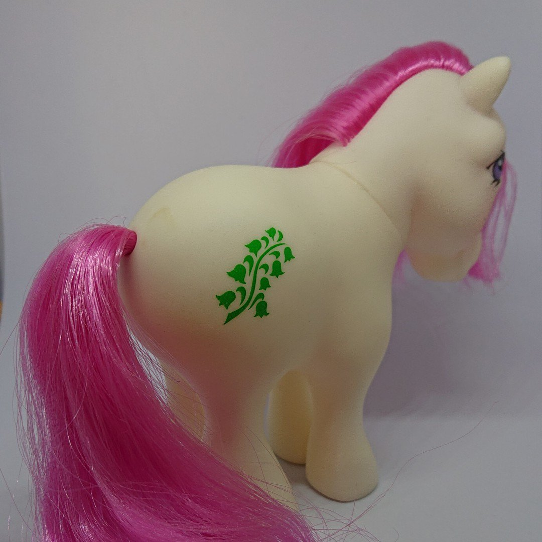 More  adorable My Little Pony toys have been added to the Etsy store! Link below. :)Lily of the Valley (May Birthflower) is one of many new MLP listed this week.http://ow.ly/K8xI50ummUz#G1 #G2 #MyLittlePony #MLP #Vintage #Retro #1980s