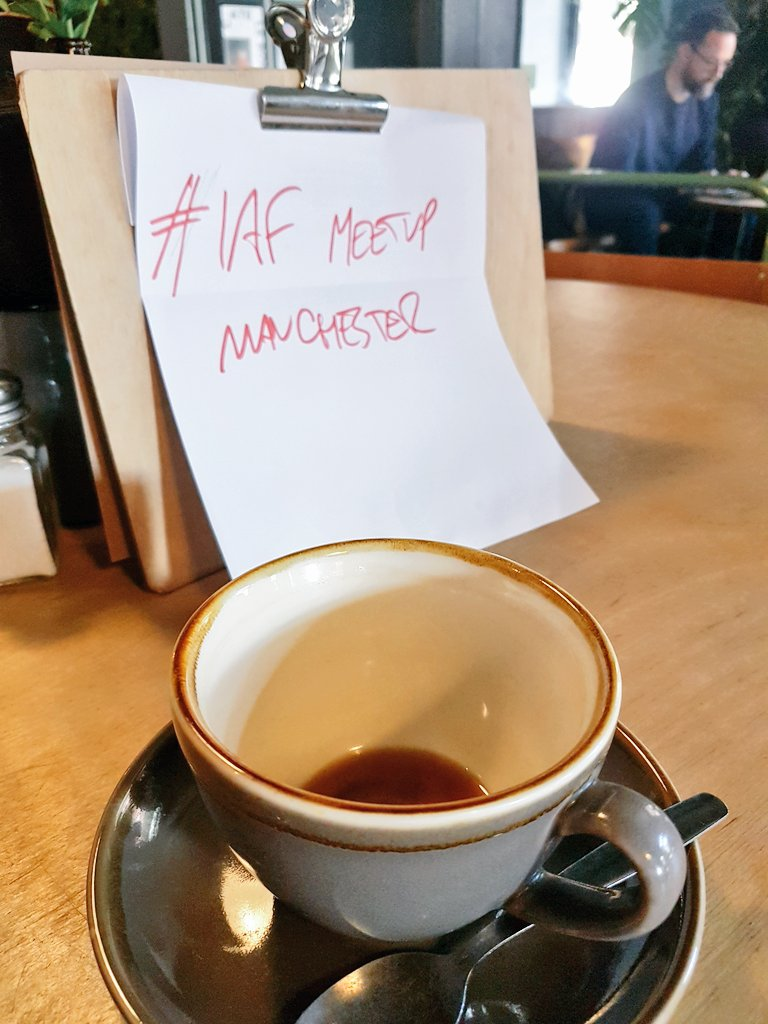 However good I may think my #facilitation skills are, hard to find any that worked for a meetup with fellow @IAFEnglandWales facilitators this morning, where it seems I was the only one who could make it...