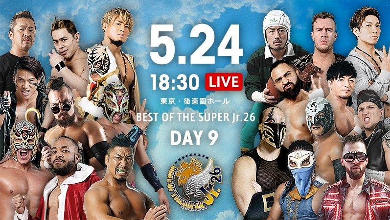 "NJPW: ""Best of the Super Jr. 26"" Día 9 Choque entre mexicanos 2"