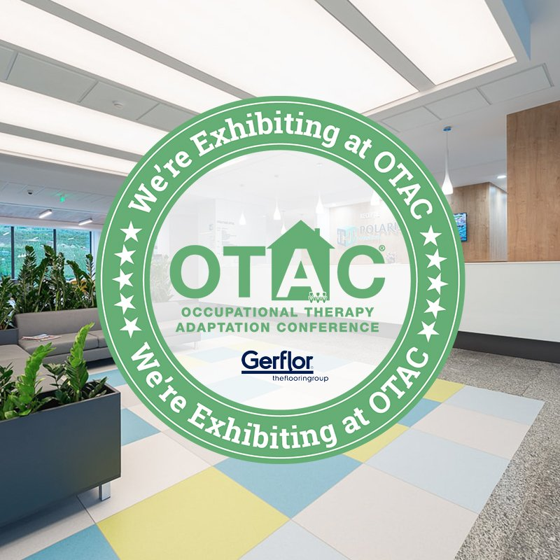 On the 12th June, we will be exhibiting at Occupational Therapy Adaptation Conference @ukotac! We will be showcasing #flooring from the following collections: Creation LVT, Tarasafe Ultra H2O, Agrippa and Griptex! Find out more and book your place here: https://t.co/PcBDFiHjOR https://t.co/n4oinJM1YC