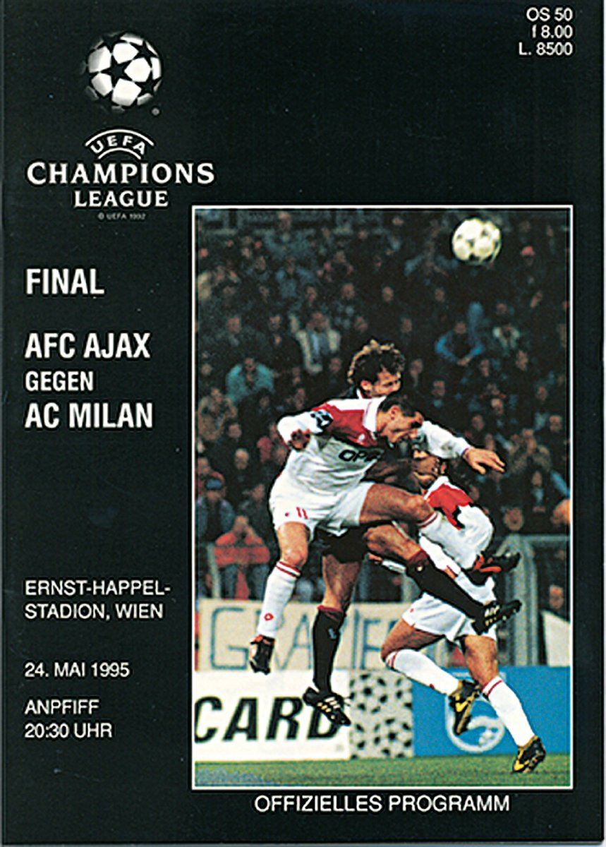 Ajax's golden boys won the #UCL trophy #OTD in 1995! #UCLfinal | #FlashbackFriday