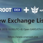 Image for the Tweet beginning: Hashgard will be listed on