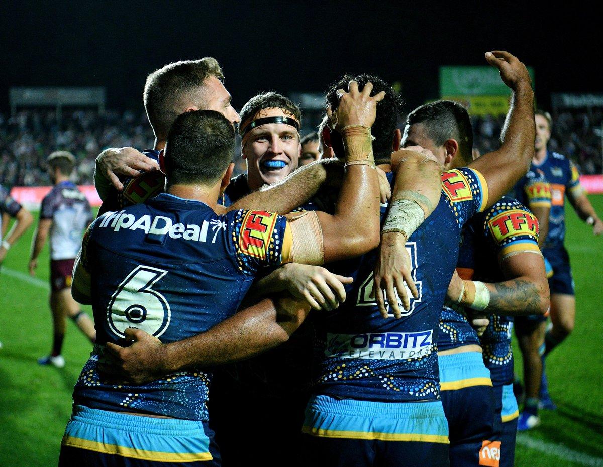 Gold Coast Titans's photo on #NRLManlyTitans