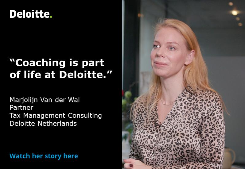 Each day presents a new opportunity for Marjolijn Van der Wal to develop herself at #Deloitte. Follow #GreenDotTax https://deloi.tt/2Qoov9V