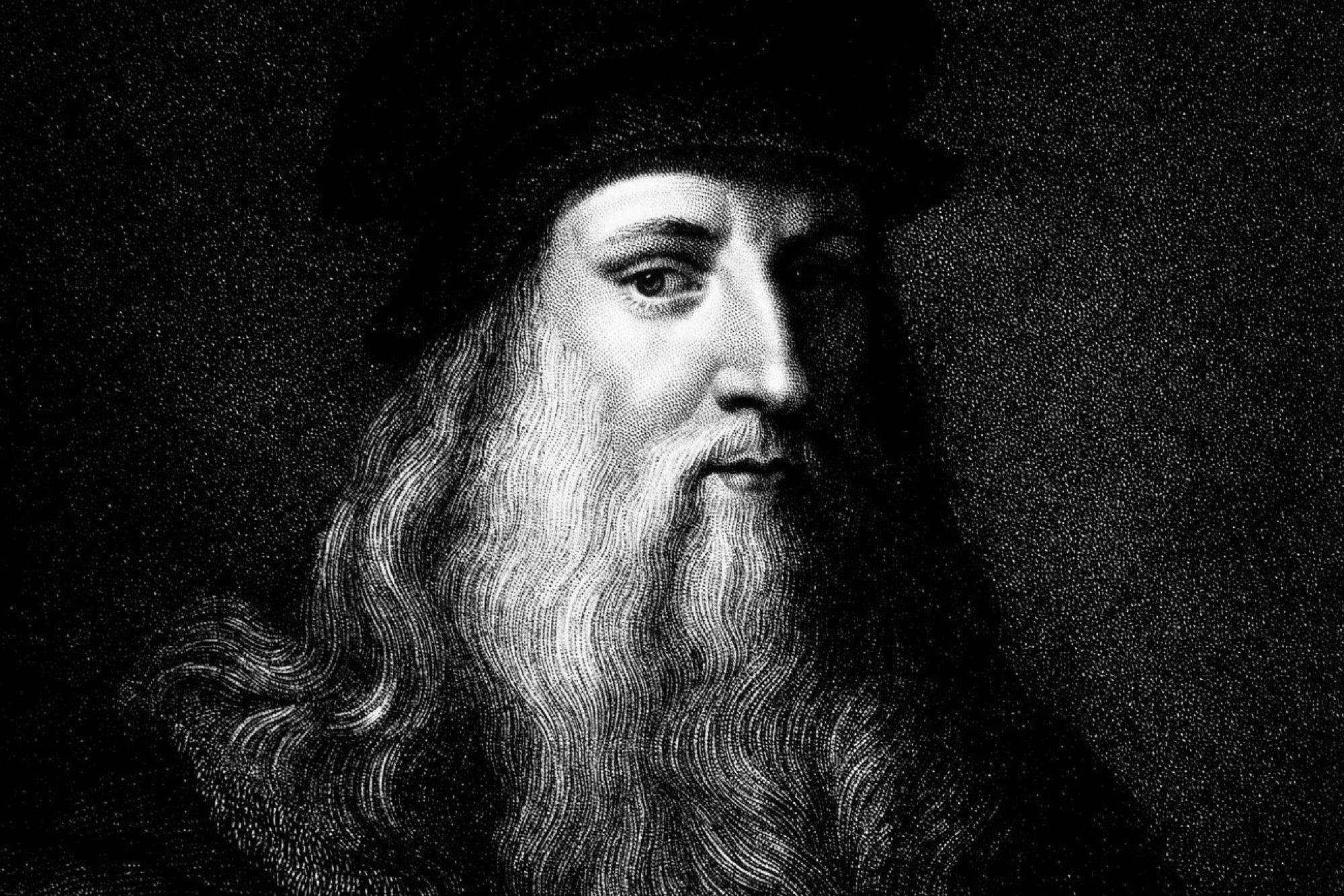 Леонардо да винчи картинки, нарисовать