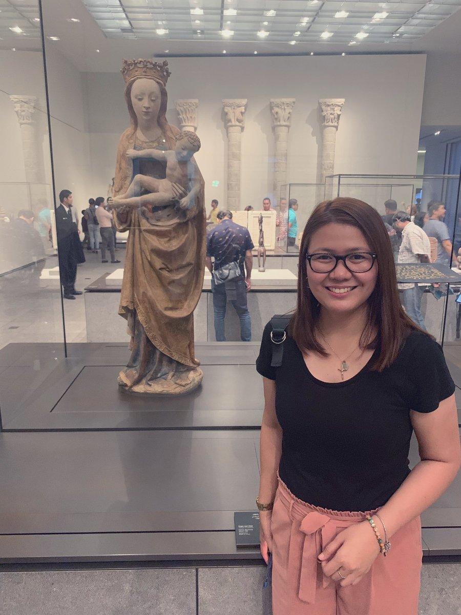 Virgin and Child  @LouvreAbuDhabi #internationalmuseumday #18May2019 #arts