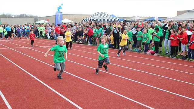 North Rose-Wolcott students participate in Special Olympics in Bloomfield